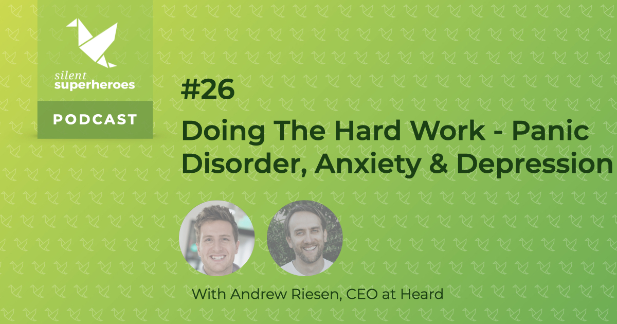 panic disorder anxiety depression mental health podcast