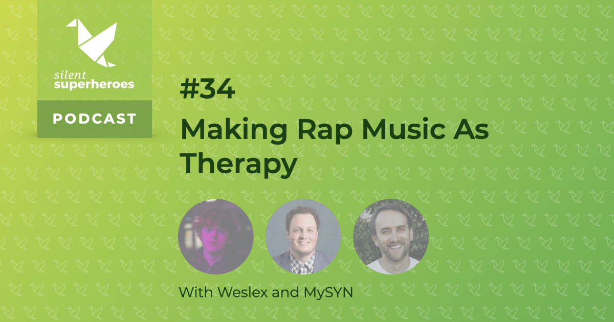 making rap music as therapy mental health podcast